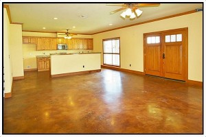 Louisiana Barndominium Interior
