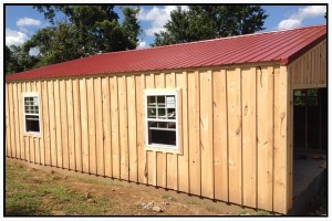 Red Roof Barndominium