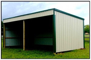 Country Wide Horse Barn Shelter