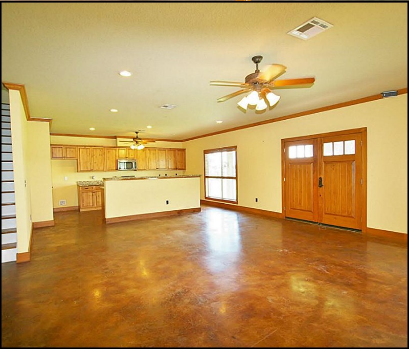 Stained Concrete Floor Country Wide Barns